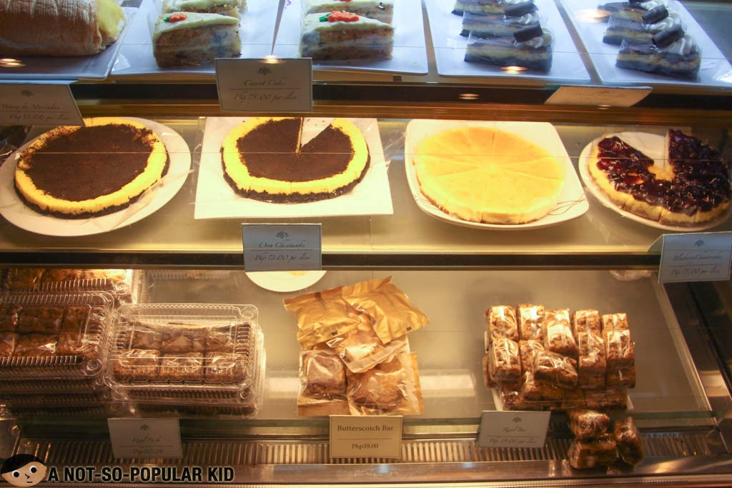 Desserts selection of RAP Steaks and Cakes