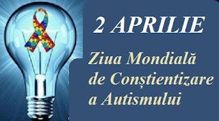 2 aprilie: Ziua Mondială de Conștientizare a Autismului