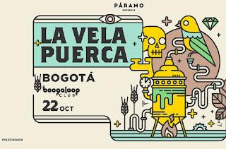 Concierto de LA VELA PUERCA en Bogotá