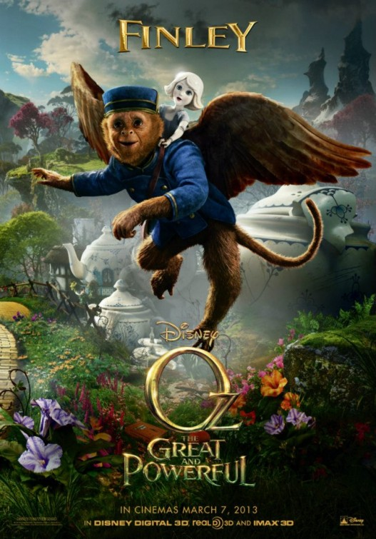 Oz Great Powerful Finley poster