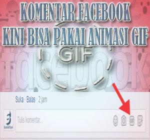 Komentar di Facebook Kini Bisa Pakai Animasi GIF, Begini Caranya
