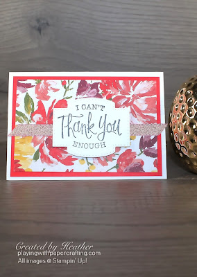 simple thank you with fine art floral 1