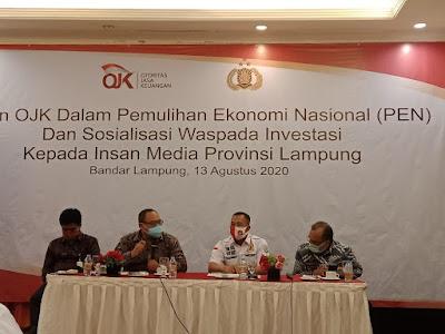 OJK Lampung Nilai Stabilitas Sektor Jasa Keuangan Tetap Terjaga Namun Kewaspadaan Harus Ditingkatkan