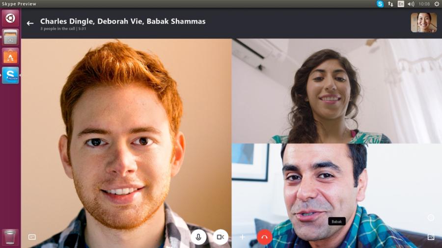 Video-Skype-Linux