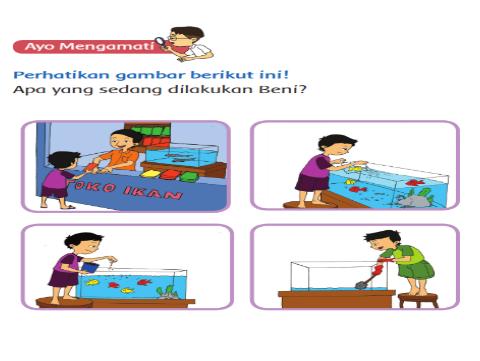 Mynewran Materi Pembelajaran Tema 2 Subtema 4 Cara Merawat Hewan