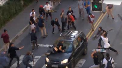 """Maísa, Fábio Assunção e os skatistas da Rua Augusta: """"que país é esse?"""""""