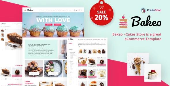 Best Cake Shop PrestaShop Theme