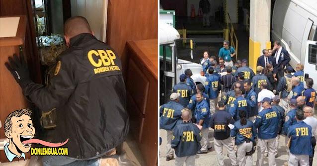 26 venezolanos capturados por el FBI negociando cocaína en medio del mar