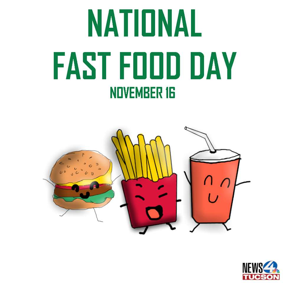 National Fast Food Day Wishes Beautiful Image