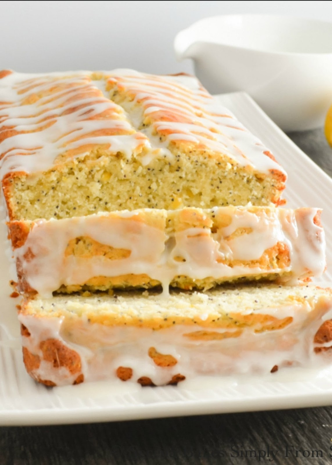 Lemon Poppy Seed Bread recipe is a favorite for breakfast or dessert with a delicious light crumb and plenty of lemon shining through. A favorite Lemon Loaf from Serena Bakes Simply From Scratch.