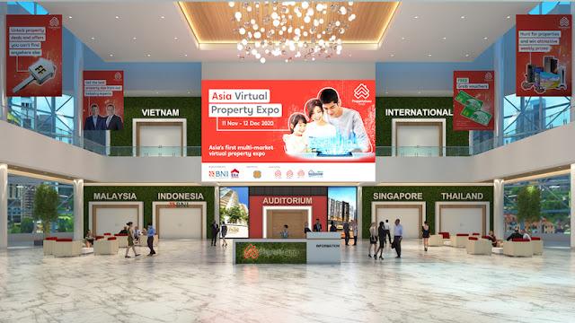 Asia Virtual Property Expo Main Hall