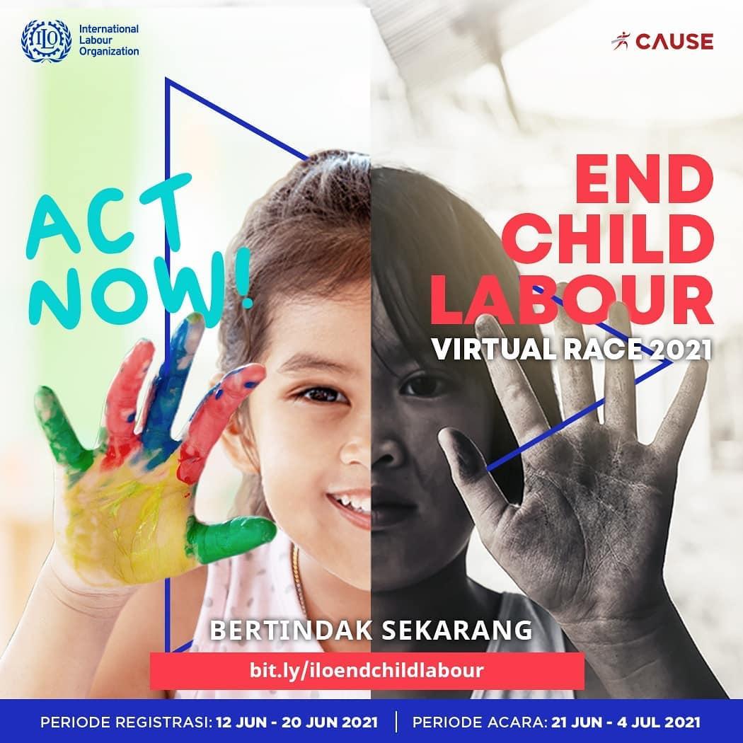 ILO End Child Labour Virtual Race • 2021
