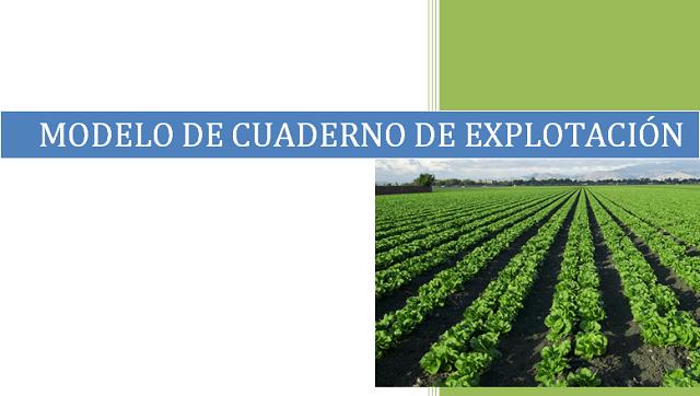 Cuadernos de campo agrícolas