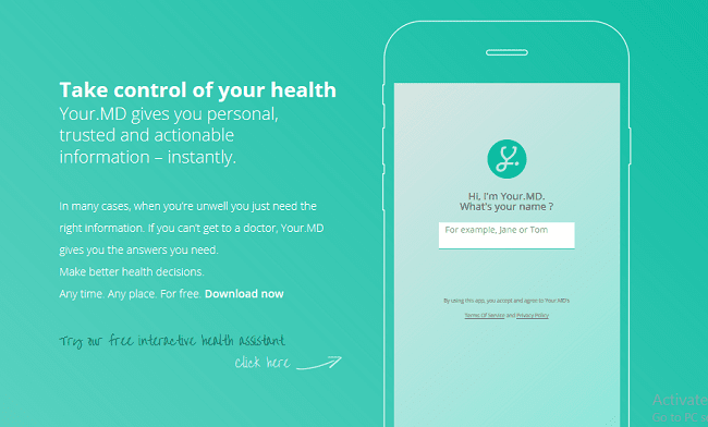 Your.MD Review: Multi-Platform Checkup Chatbot App