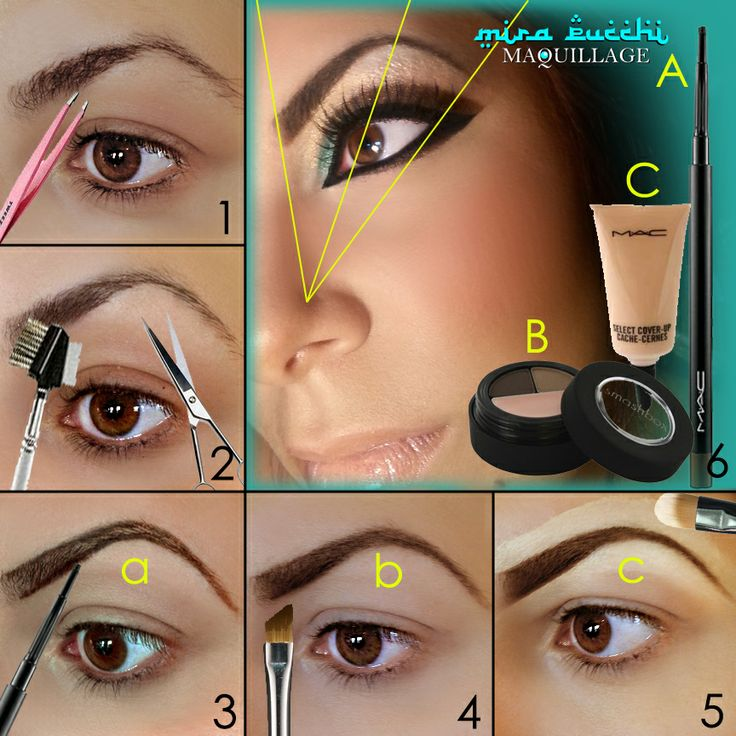 Tutorial: How to Fill in Your Eyebrows |Beautiful Girls ...