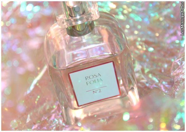 Eau de parfum Rosa Folia N°2, Dr Pierre Ricaud - Avis Blog Beauté