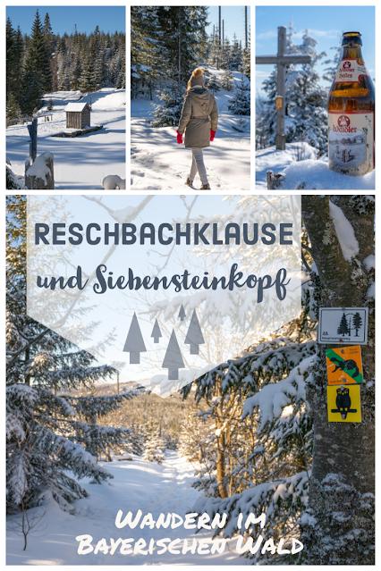 Winterwandern Mauth-Finsterau  Reschbachklause – Siebensteinkopf  Nationalpark Bayerischer Wald 04