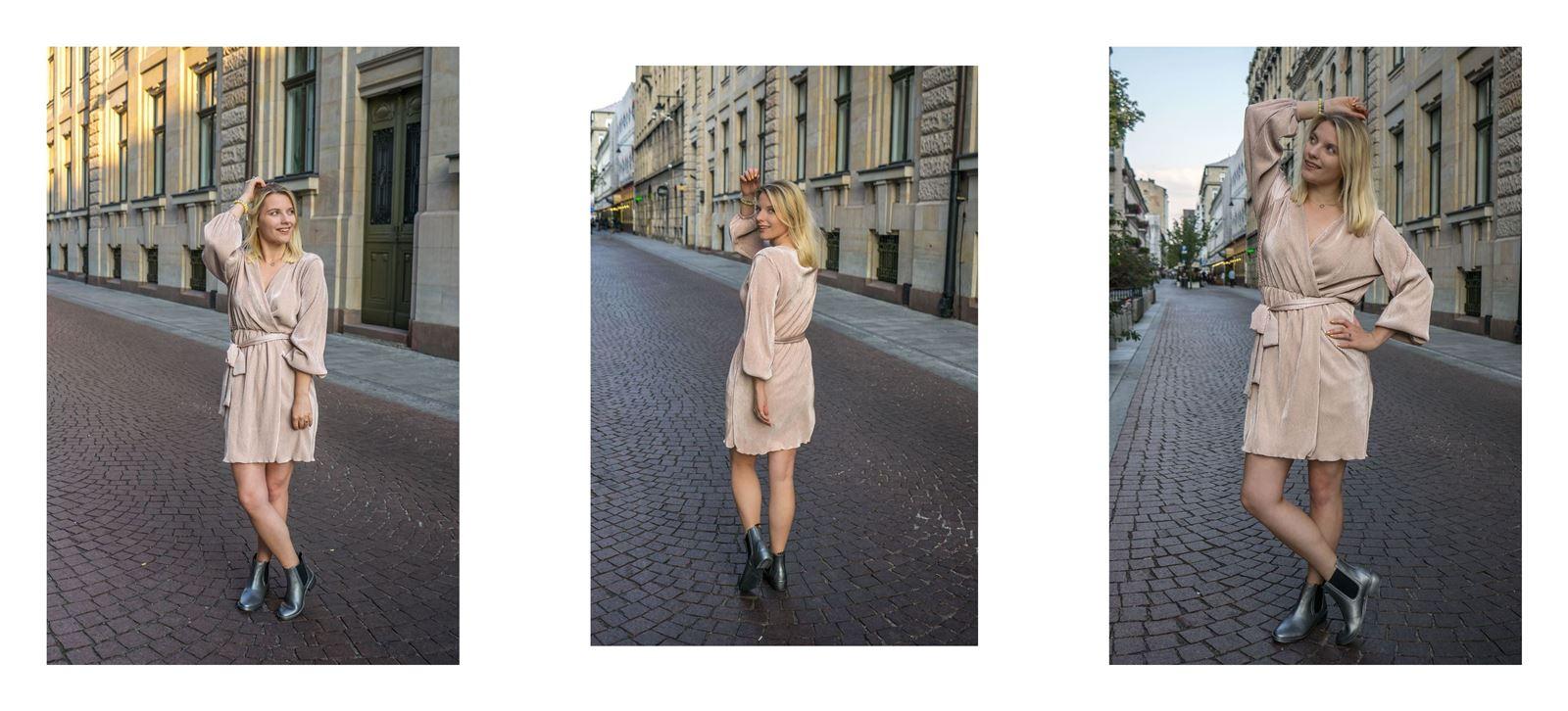 stylizacje idealne na jesień, kobiece stylizacje, sukienka, garnitur mosquito cena czy warto natalii siwiec
