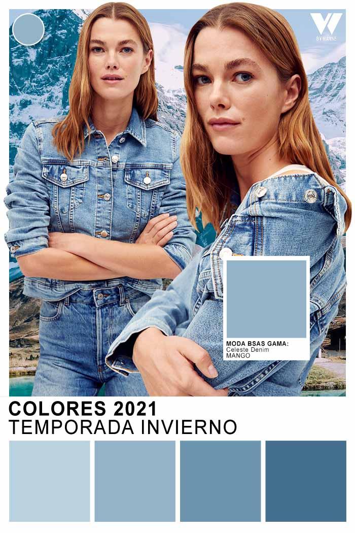 colores denim otoño invierno 2021