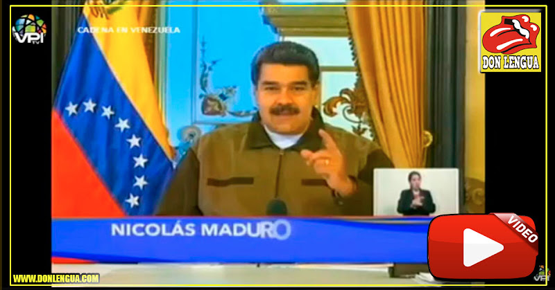Maduro anuncia en Cadena Nacional poderosos cambios