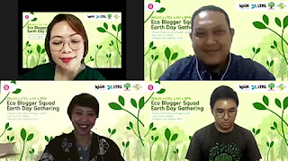 pembicara earth day gathering