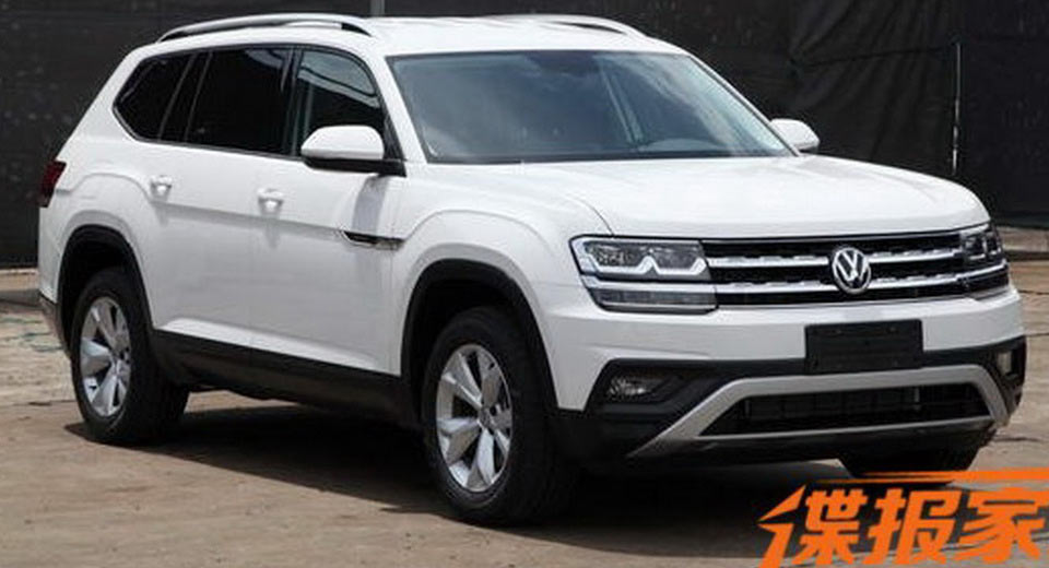 Forget The Teramont Vw Will Name Its New Suv The Atlas