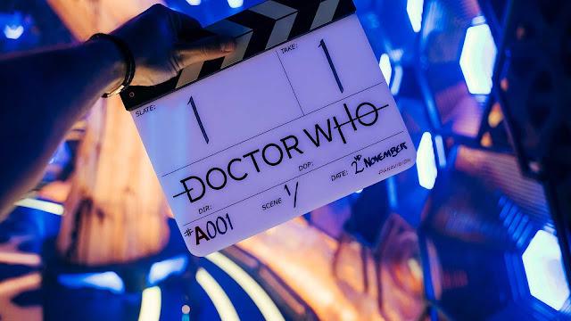 Doctor Who season 13 clapperboard