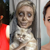 """Bukan Lakukan Pembedahan"", Gadis Viral Yang Obses Dengan Angelina Jolie Akui Gunakan Teknik Makeup Dan Suntingan Gambar Dengan 'Photoshop'.."