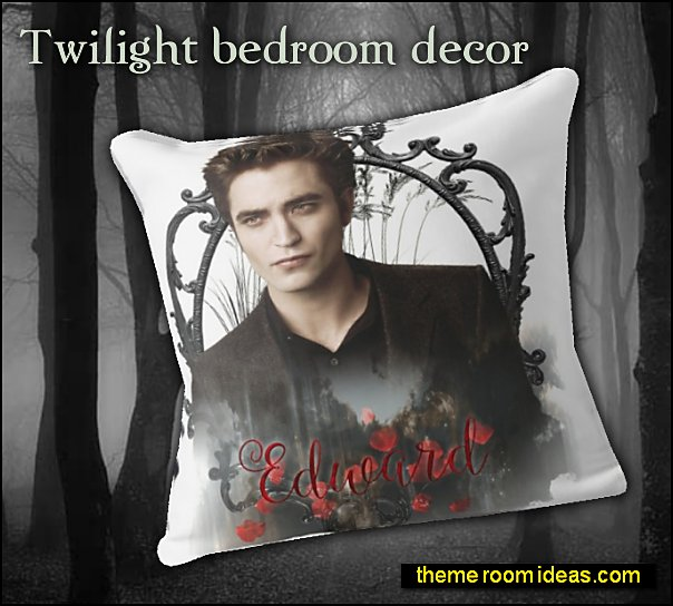 edward bedroom decor edward cullen pillow twilight bedroom decorating ideas