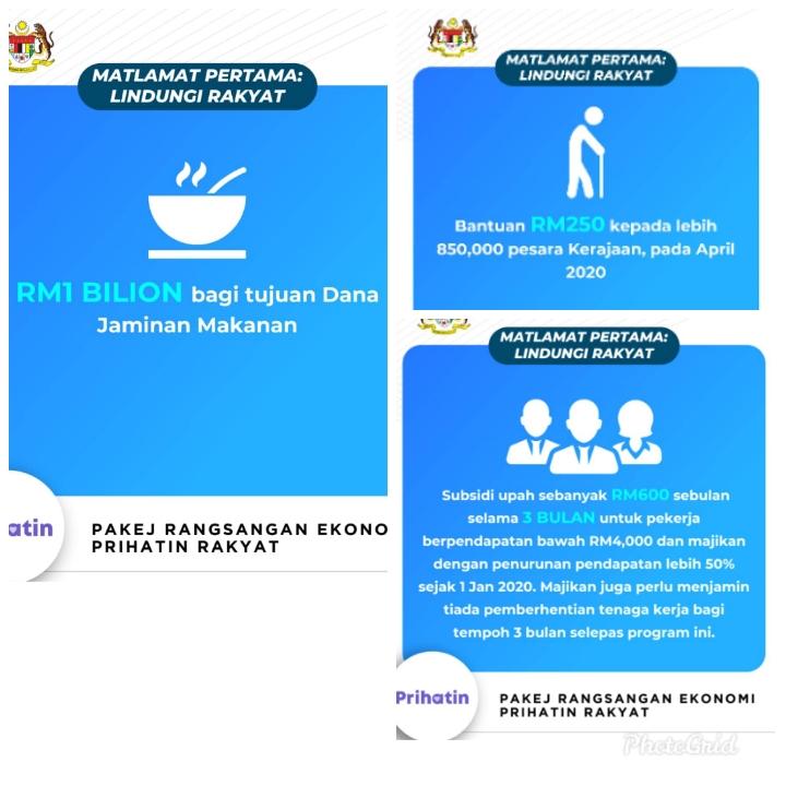 Pakej Ransangan Ekonomi Prihatin Rakyat (PRIHATIN) 27 Mac 2020