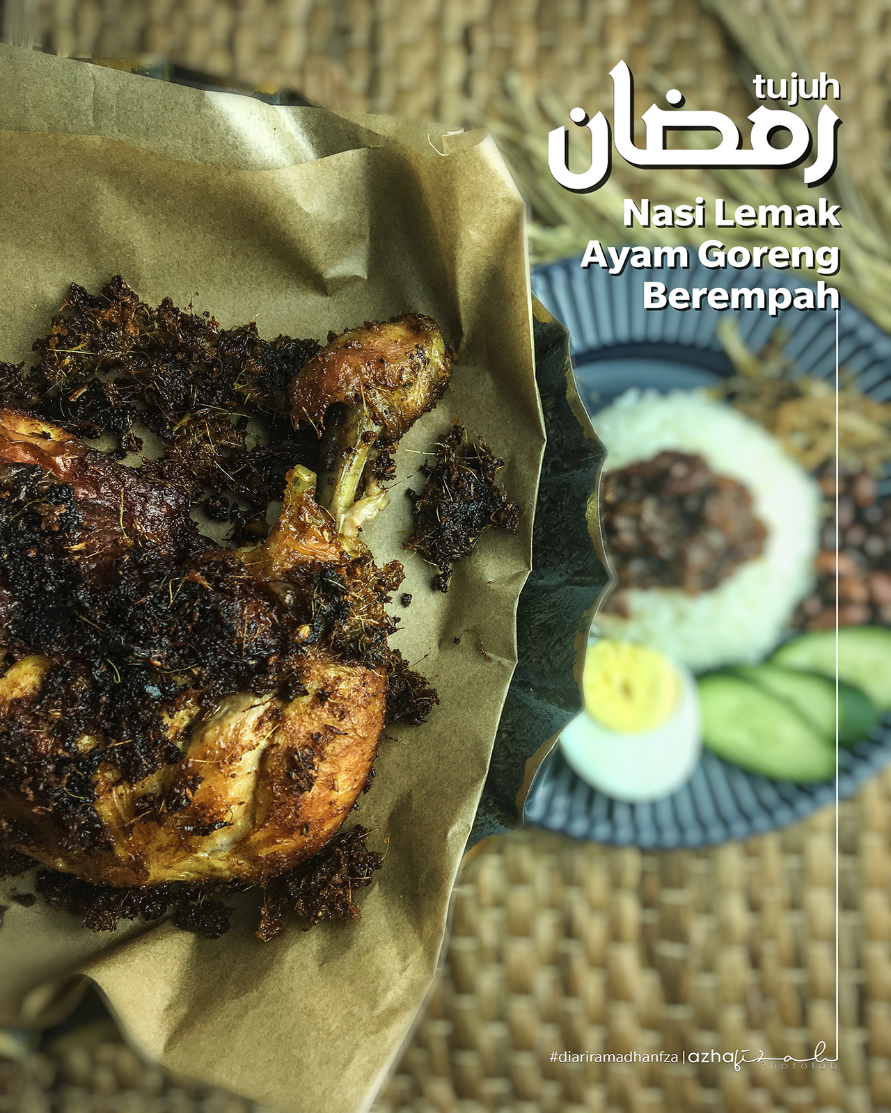 Resepi Nasi Lemak Dan Ayam Goreng Berempah Sedap