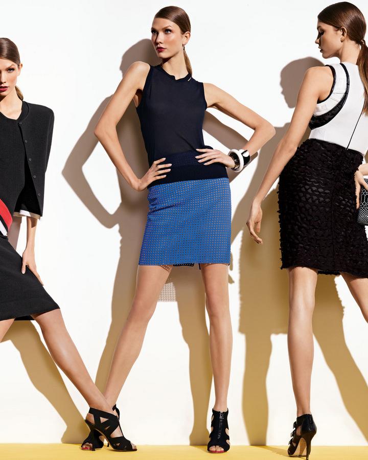Bikini Babes: Karlie Kloss for Neiman Marcus, March 2012