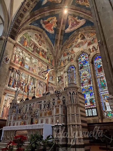Santa Maria Novella Capilla Mayor