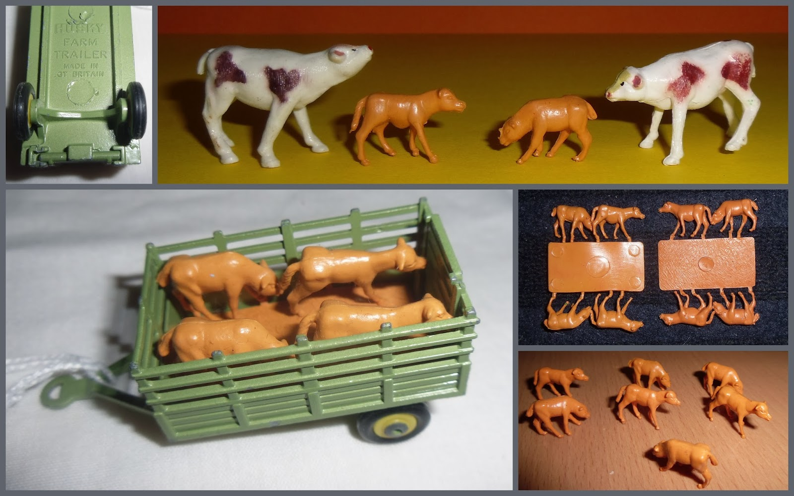 Action Figures Animals & Dinosaurs Smart Siku Toy Cows Vivid And Great In Style