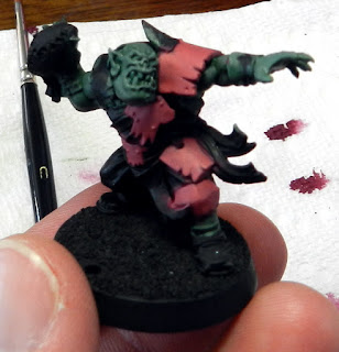 blood bowl orc thrower