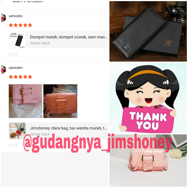 Testimoni Tas Jimshoney Clara Bag