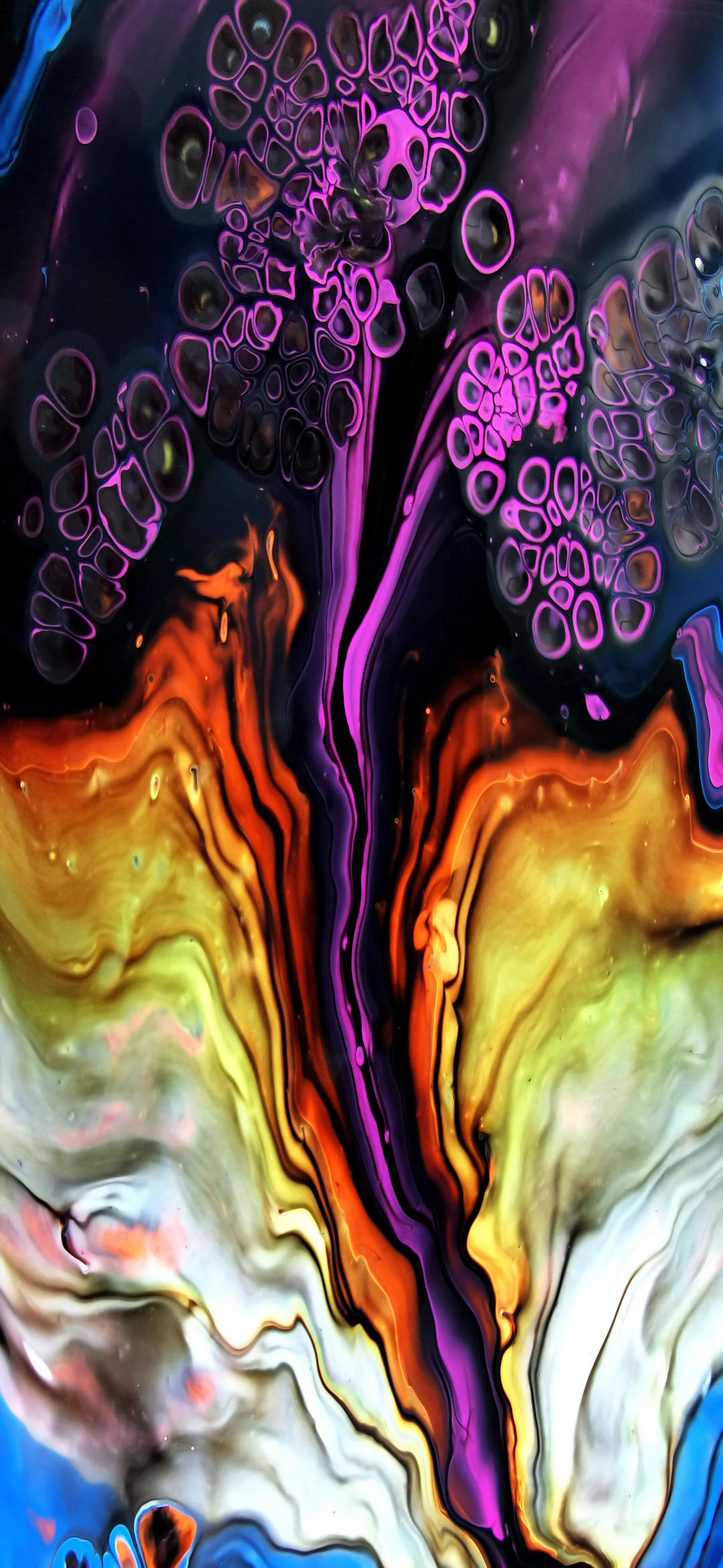 Purple-and-Brown-Abstract-Painting-wallpaper