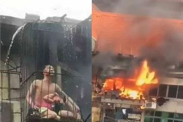Melindungi Putrinya dari Kebakaran, Suami Istri Ini Relakan Tubuhnya Terbakar Kobaran Api