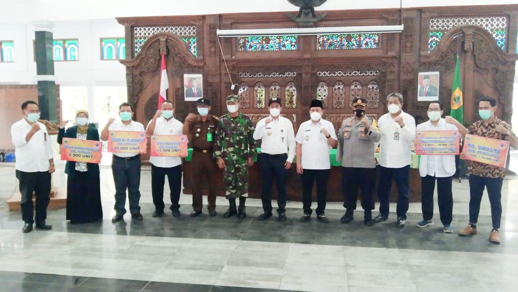 BPBD Pemalang Salurkan Bantuan 300 Ribu Unit ARA