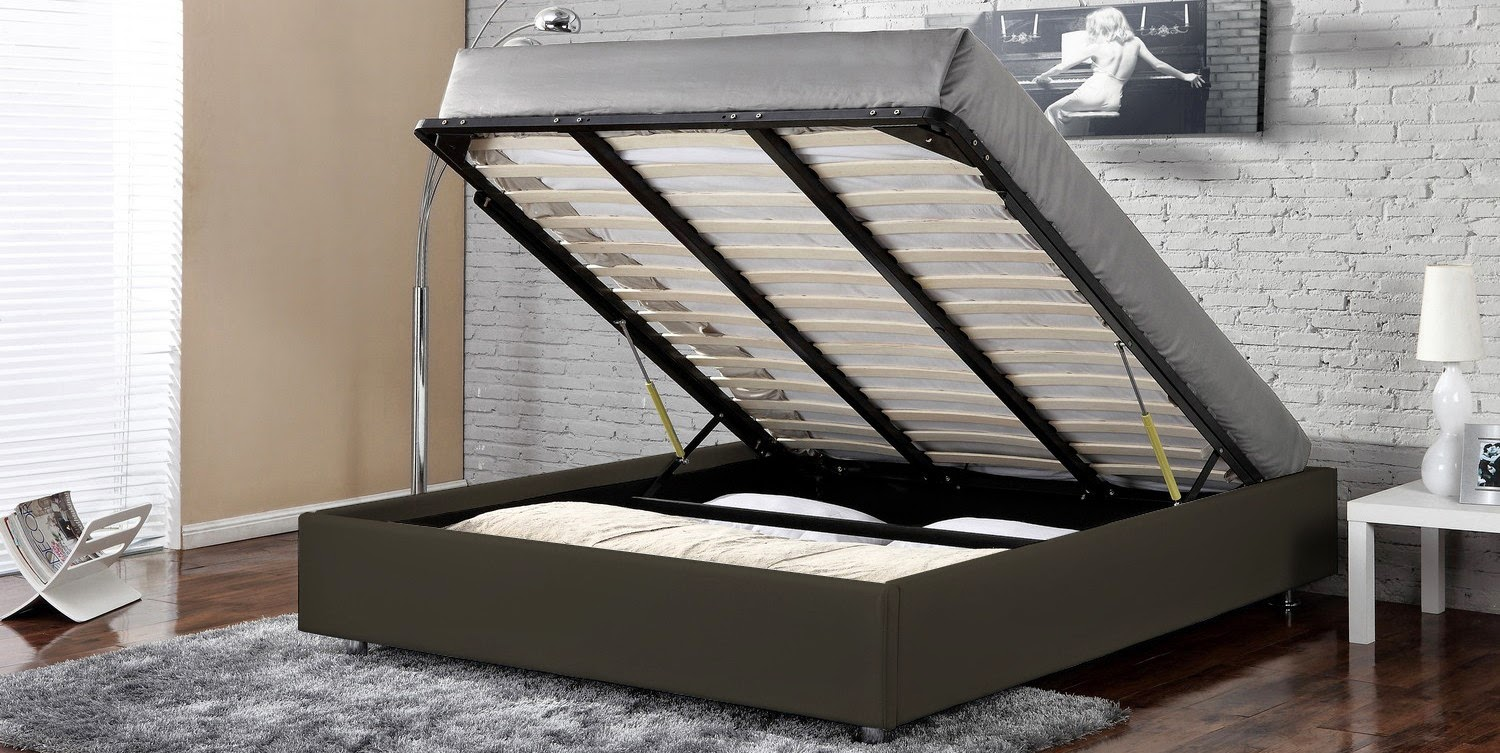 Lit Coffre King Size Decco Interieur Lit Box Coffre 90 Single 140 160 Kingsize