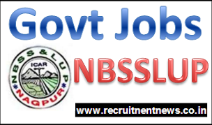 NBSSLUP Jobs