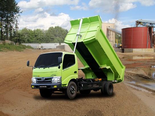 gambar hino dutro dam truk