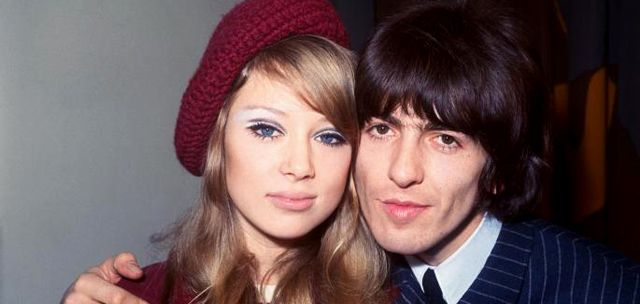 Patti Boyd y George Harrison