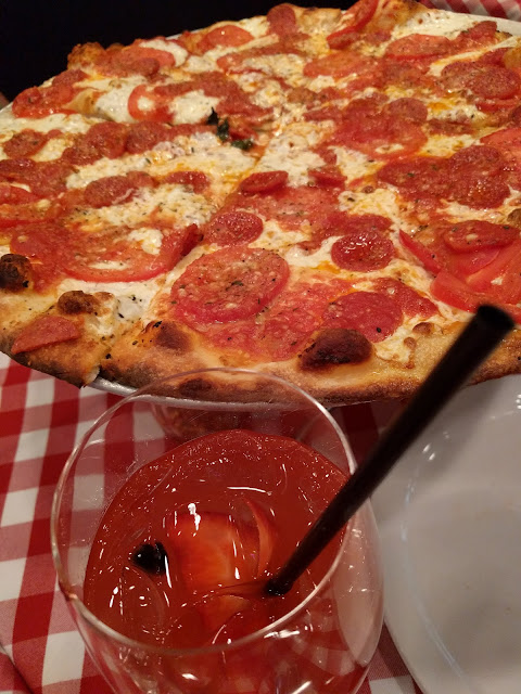 Grimaldi's Pizza and Summer Sangria