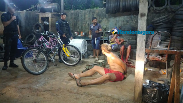 ABSURDO - Filho de vítima reage a furto, ataca acusado e vai preso