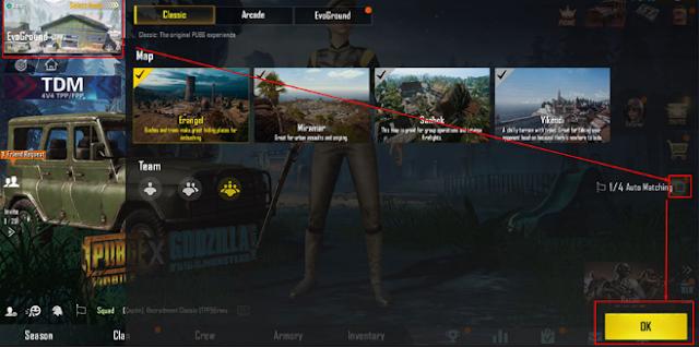 PUBG permainan membolehkan pemain untuk bermain dalam mod solo