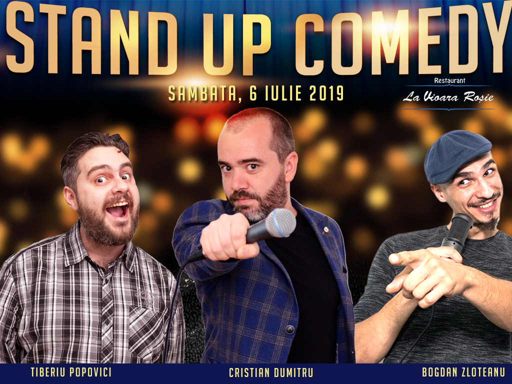 Stand-Up Comedy Bucuresti Azi