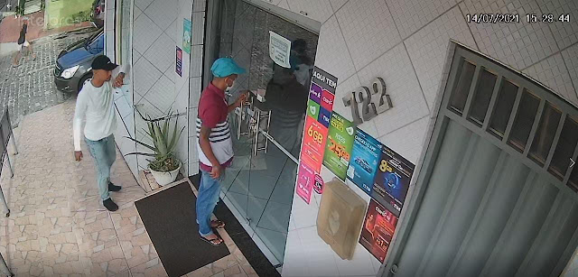 Polícia Civil divulga imagens de suspeitos de roubo a veículos no RN