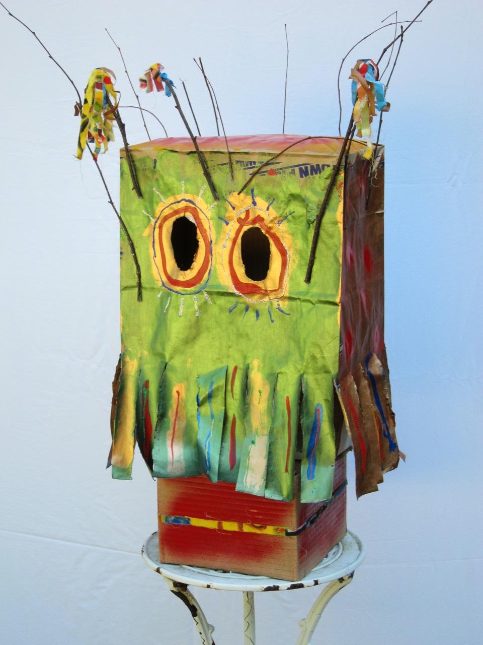 Bottle Jar Box Can Paper Bag Mask