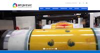 impreac.com impresos y acabados, sitio web creado por Alvaro Ayala